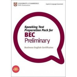 Speaking Test Preparation Pack for BEC Preliminary + DVD