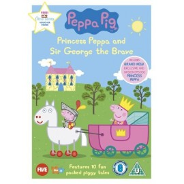 Peppa Pig: Princess Peppa and Sir George the Brave DVD