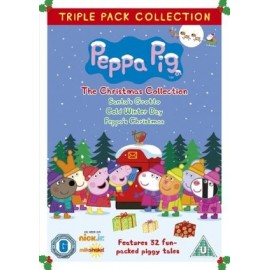 Peppa Pig Triple Pack - The Christmas Collection DVD