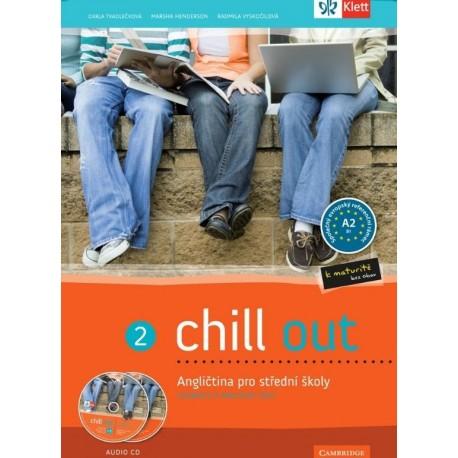 Chill Out 2 učebnice + pracovní sešit + Audio CD Klett 9788073971038