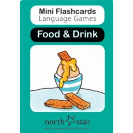 Mini Flashcards Language Games: Food & Drink North Star ELT 9780007522439