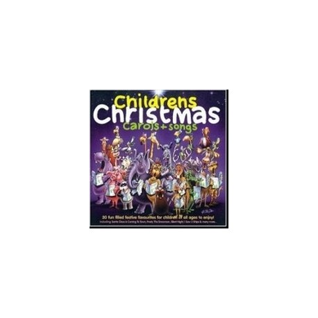 Childrens Christmas Carols + Songs (CD) Crimson 5033093000928