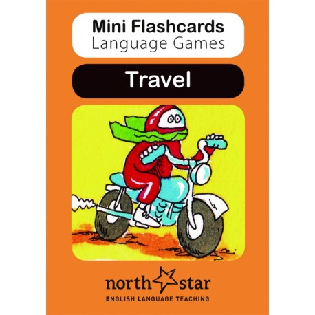 Mini Flashcards Language Games: Travel North Star ELT 9781907584206
