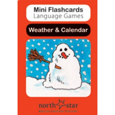 Mini Flashcards Language Games: Weather & Calendar North Star ELT 9780007522514