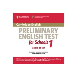 Cambridge Preliminary English Test for Schools 1 CDs