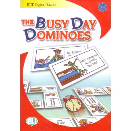 The Busy Day Dominoes - Game Box + CD-ROM ELI 9788853614087