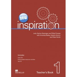 New Inspiration 1 Teacher's Book + Test CD + Class Audio CD