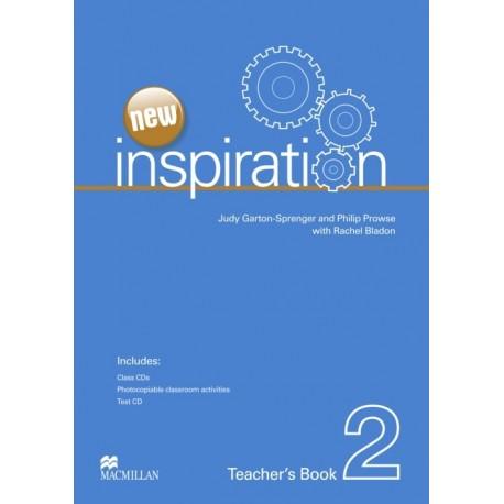 New Inspiration 2 Teacher's Book + Test CD + Class Audio CD Macmillan 9780230412422