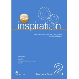 New Inspiration 2 Teacher's Book + Test CD + Class Audio CD