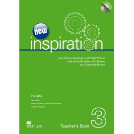 New Inspiration 3 Teacher's Book + Test CD + Class Audio CD