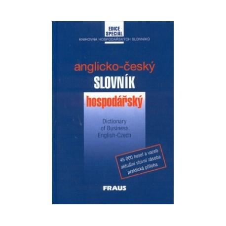 Fraus: Anglicko-český slovník hospodářský Fraus 9788072380466