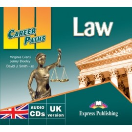 Career Paths: Law Class Audio CDs