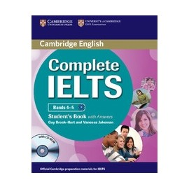 Complete IELTS Bands 4-5 Student's Pack (Student's Book with answers + CD-ROM + Class Audio CDs)