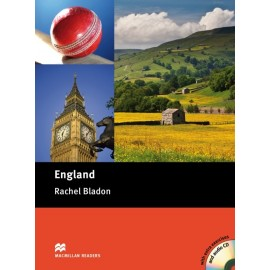 Macmillan Cultural Readers: England + CD