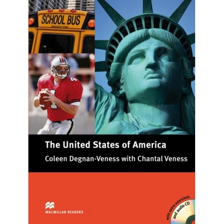 Macmillan Cultural Readers: The United States of America + CD Macmillan 9780230436411