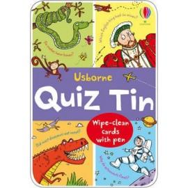 Usborne Quiz Tin