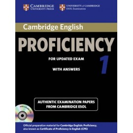 Cambridge English Proficiency 1 for Updated Exam 2013 Student's Book with answers + Audio CDs