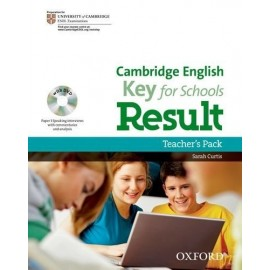 Cambridge English Key for Schools Result Teacher's Book + DVD
