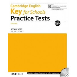 Cambridge English Key for Schools Practice Tests with Key + Audio CD
