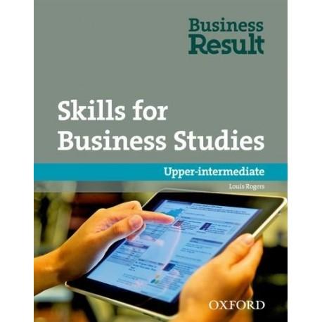 Business Result Upper-Intermediate Student's Book + DVD-ROM + Skills for Business Studies Workbook Oxford University Press 9780194739511
