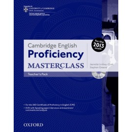 Cambridge English Proficiency Masterclass Teacher's Book + DVD