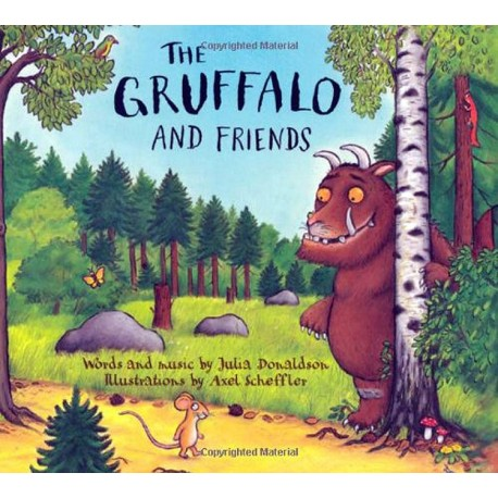 The Gruffalo and Friends CD Box set (Audiobook + songs) Macmillan Publishers 9781405054119