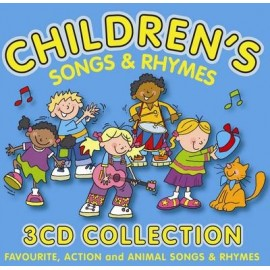Children's Songs & Rhymes 3 CD Collection