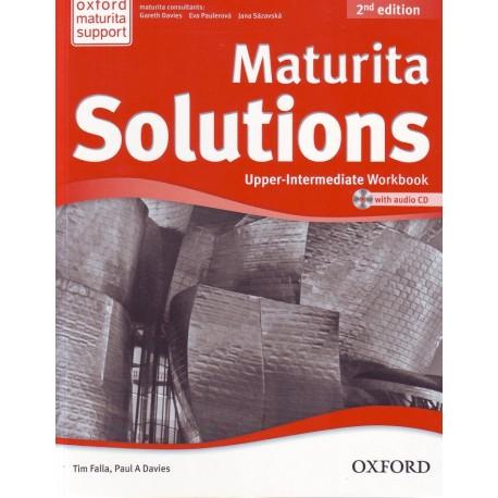 Maturita Solutions Second Edition Upper-Intermediate Workbook + Audio CD Czech Edition Oxford University Press 9780194553612