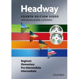 New Headway Beginner - Intermediate Fourth Edition DVD Video + Photocopiable Worksheets