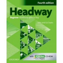 New Headway Beginner Fourth Edition Workbook without Key + iChecker CD-ROM