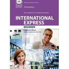 International Express Beginner Third Edition Student's Book + DVD-ROM