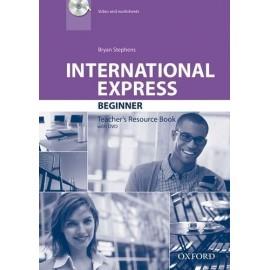 International Express Beginner Third Edition Teacher's Book + DVD
