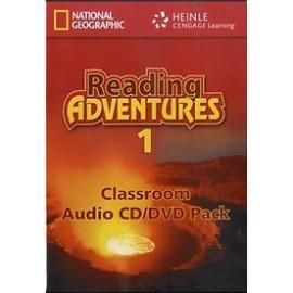 Reading Adventures 1 Audio CD + DVD