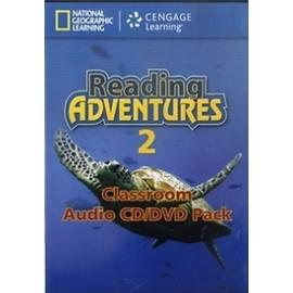 Reading Adventures 2 Audio CD + DVD