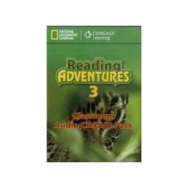 Reading Adventures 3 Audio CD + DVD