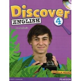 Discover English 4 Activity Book CZ + CD-ROM