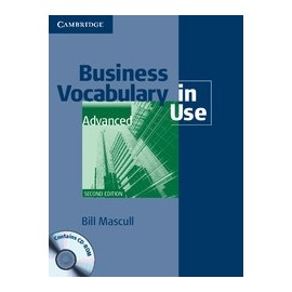Business Vocabulary In Use Advanced Second Edition (with answers) + CD-ROM
