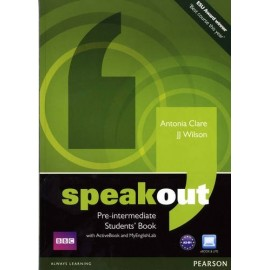 Speakout Pre-Intermediate Student's Book + Active Book DVD-ROM + Access to MyEnglishLab