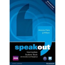 Speakout Intermediate Student's Book + Active Book DVD-ROM + Access to MyEnglishLab