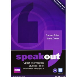 Speakout Upper-Intermediate Student's Book + Active Book DVD-ROM + Access to MyEnglishLab