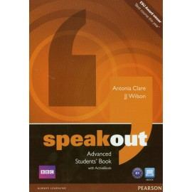 Speakout Advanced Student's Book + Active Book DVD-ROM