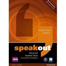 Speakout Advanced Student's Book + Active Book DVD-ROM + Access to MyEnglishLab