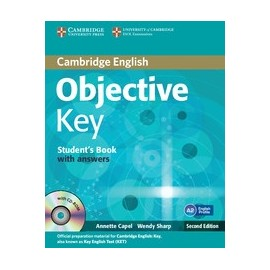 Objective Key Second Edition Student's Book with answers + CD-ROM