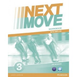 Next Move 3 Workbook + MP3 Audio CD