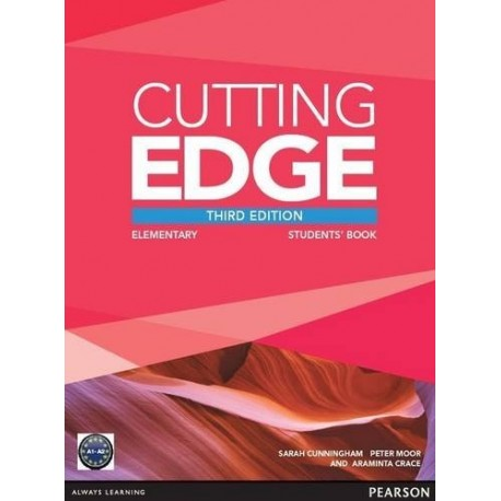 Cutting Edge Third Edition Elementary Student's Book + DVD-ROM Pearson 9781447936831