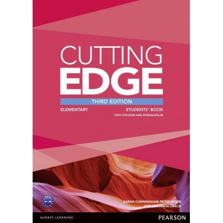 Cutting Edge Third Edition Elementary Student's Book + DVD-ROM + Access to MyEnglishLab Pearson 9781447944034