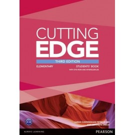Cutting Edge Third Edition Elementary Student's Book + DVD-ROM + Access to MyEnglishLab