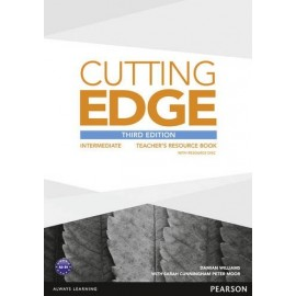 Cutting Edge Third Edition Intermediate Teacher's Book + Resource CD-ROM
