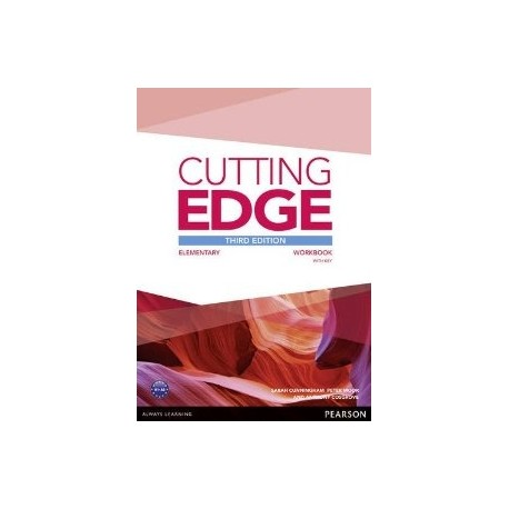 Cutting Edge Third Edition Elementary Workbook with Key Pearson 9781447906414