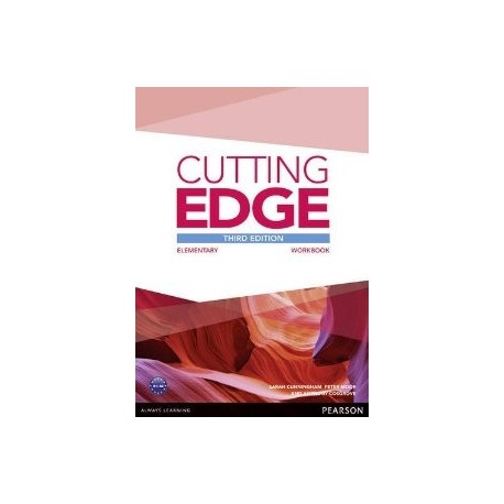 Cutting Edge Third Edition Elementary Workbook without Key Pearson 9781447906407